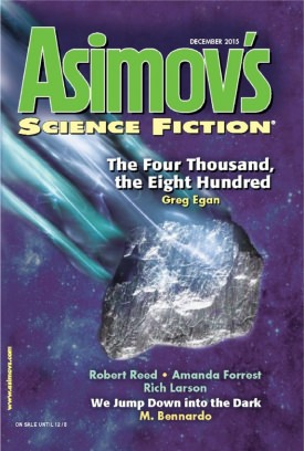 Asimov's cover image