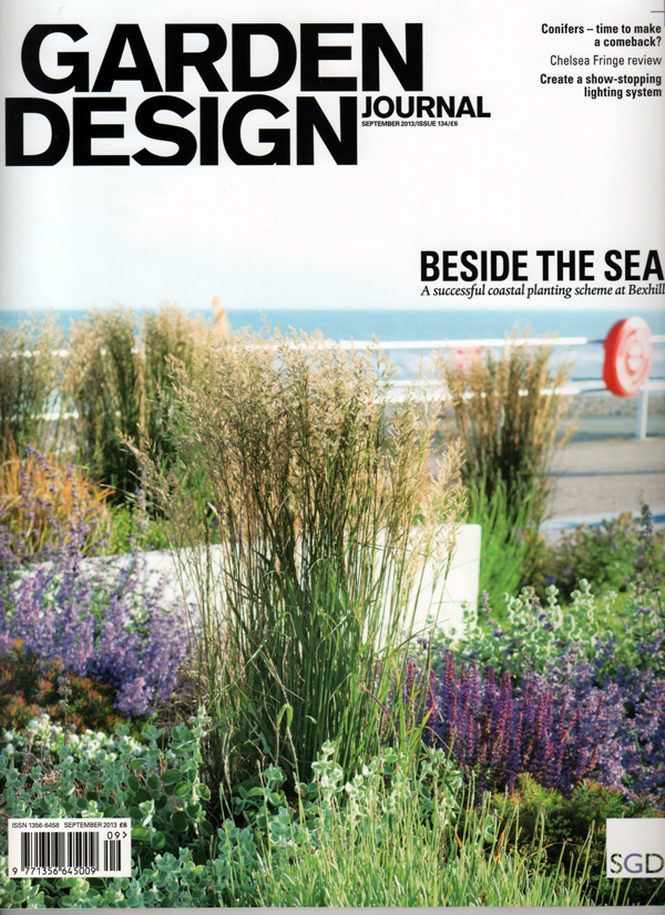 Greencubeu0027s Mews Courtyard Garden Features In Advertisement In The Garden  Design Journal