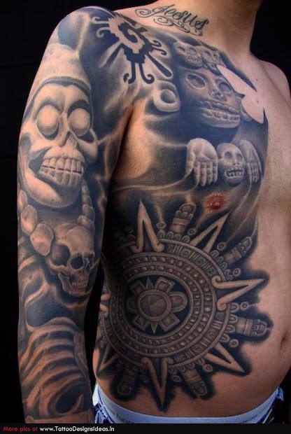 aztec tribal tattoos