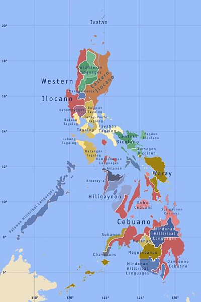 Blog Nang Joseph Lingua Franca Of The Philippines