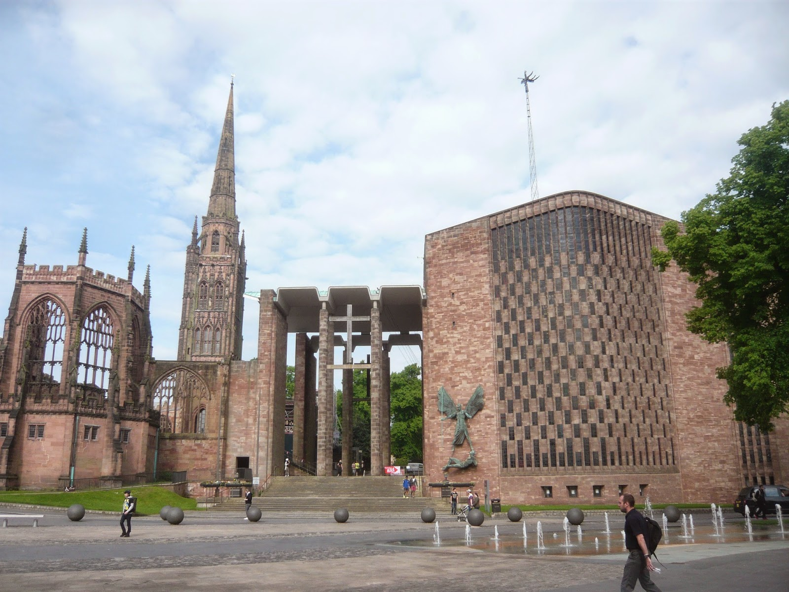 Between sabbatical art pilgrimage coventry cathedral for The coventry