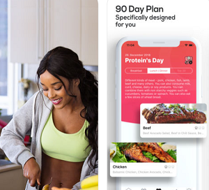 Fitness App of the Month – 90 Days Diet