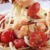 Pasta con camarones receta