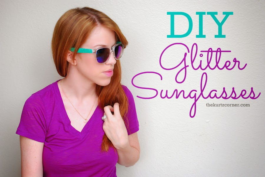 how to make your own sunglasses at home