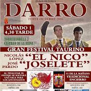 """Nicolás López """"El Nico"""" anunciado en Darro, el 01/10."""