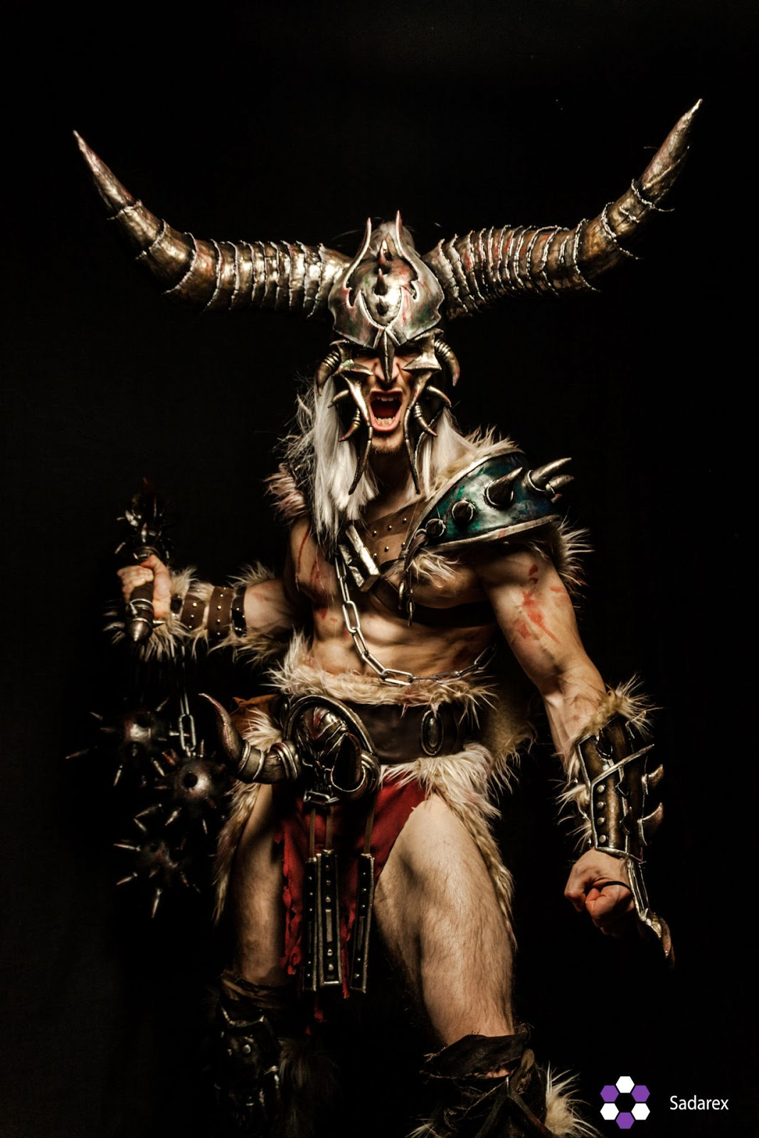 cosplay barbare diablo 3