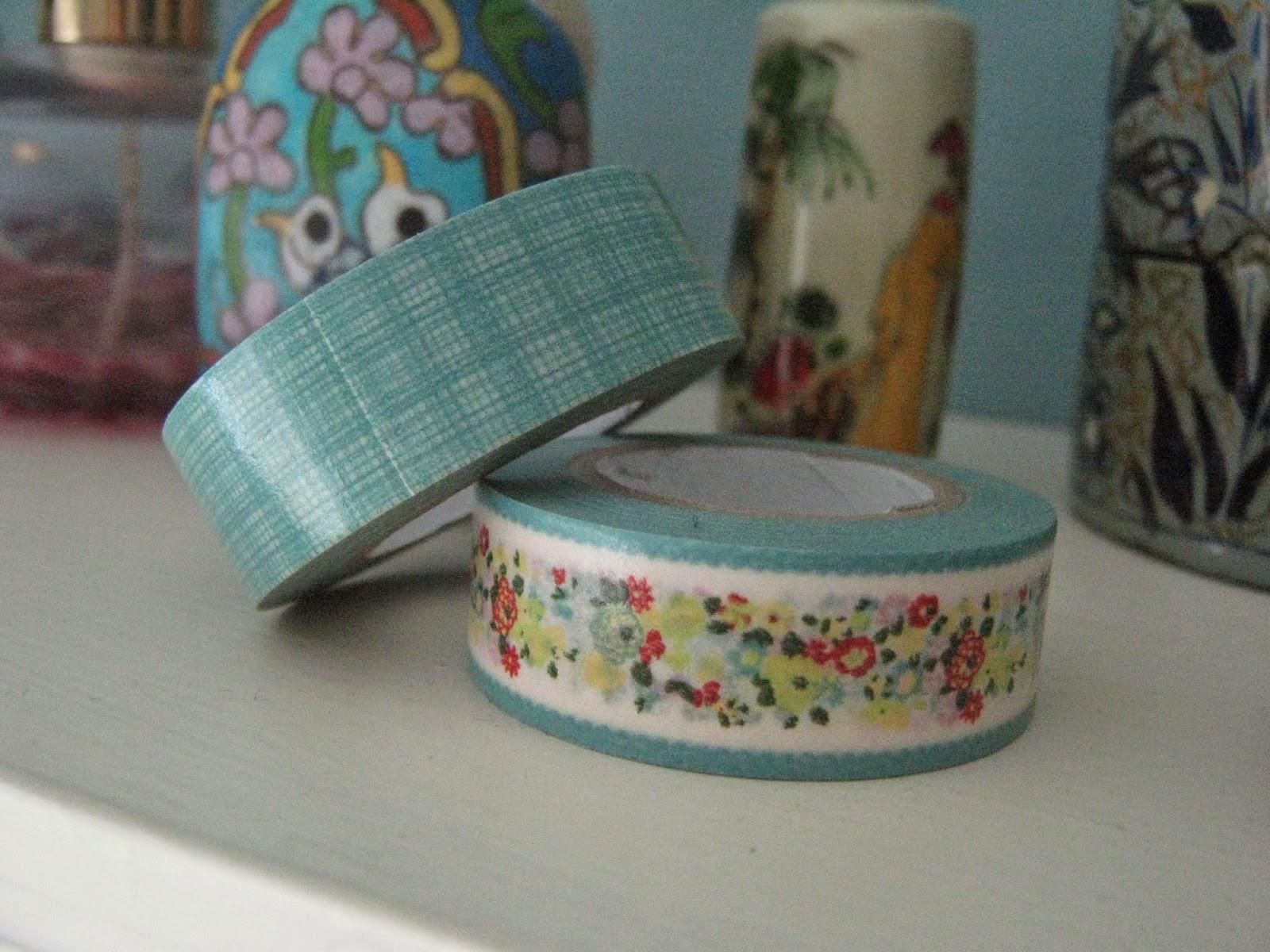 Wilkos Floral Washi Tape