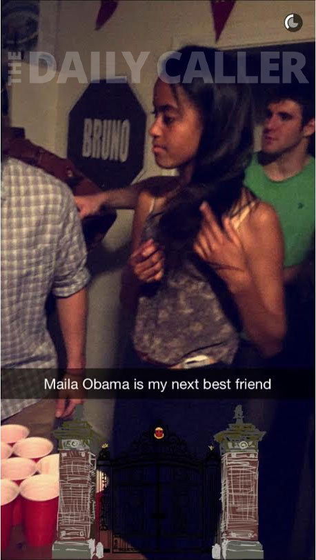Malia-Obama-At-College-Beer-Pong-Party