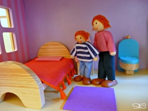 ganchillo colcha casa muñecas