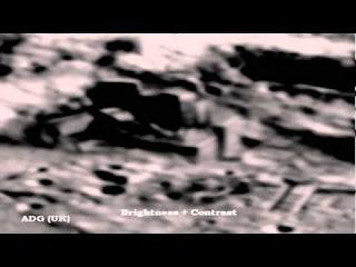 Fortaleza y Pirámides antiguas de origen alienígena en la Luna - Revelado 0