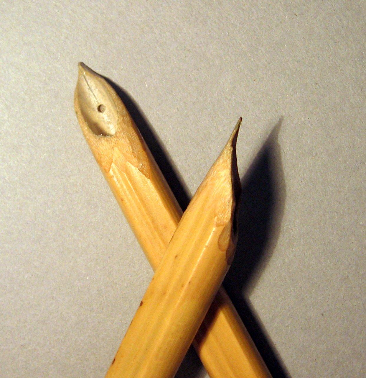 Acquerelliamo insieme: fai da te: costruire una penna di bambù