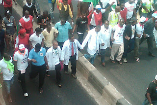 nigerian doctors go on strike