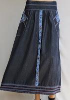 Skirt Jeans Murah RM326-2