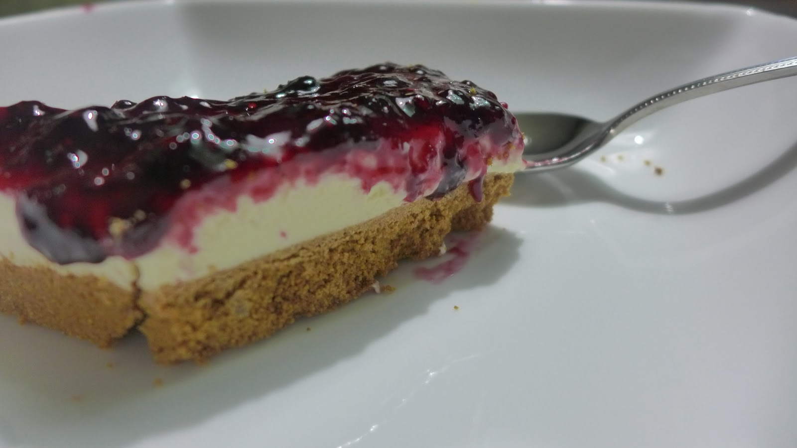 Nothing But Calories: No Bake Blueberry Cheesecake Recipe