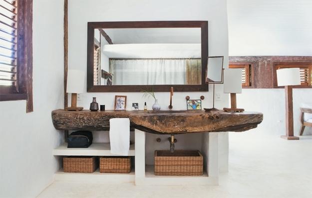 Estilo rustico casa rustica en bahia brasil for Lavaderos rusticos de casas