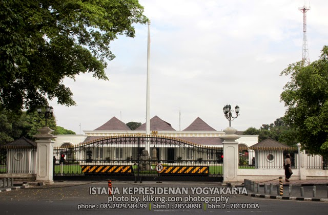 ISTANA KEPRESIDENAN YOGYAKARTA :: Yogyakarta Spot Photo Place (1) - klikmg.com foto & video [Fotografer Wedding & Prewedding]