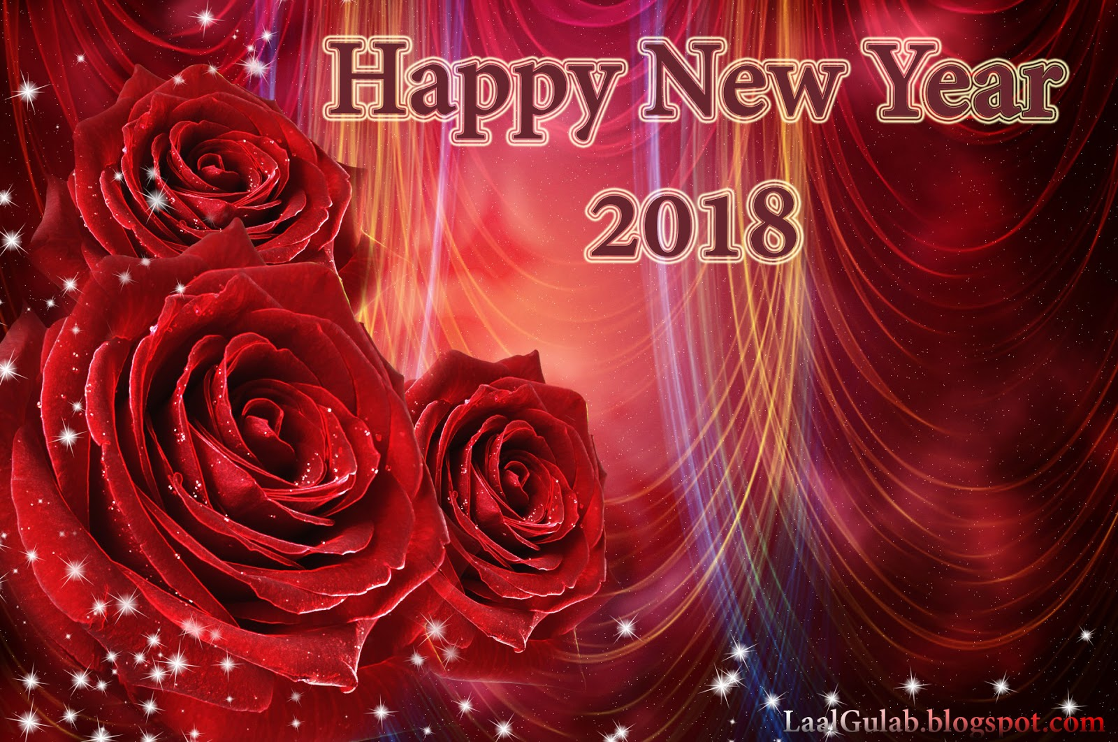 Happy New Year 2018 Wallpaper - 8
