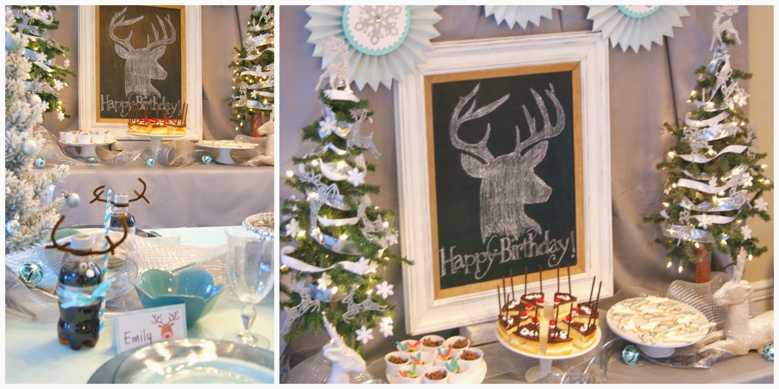 Oh Deer!  Reindeer Party