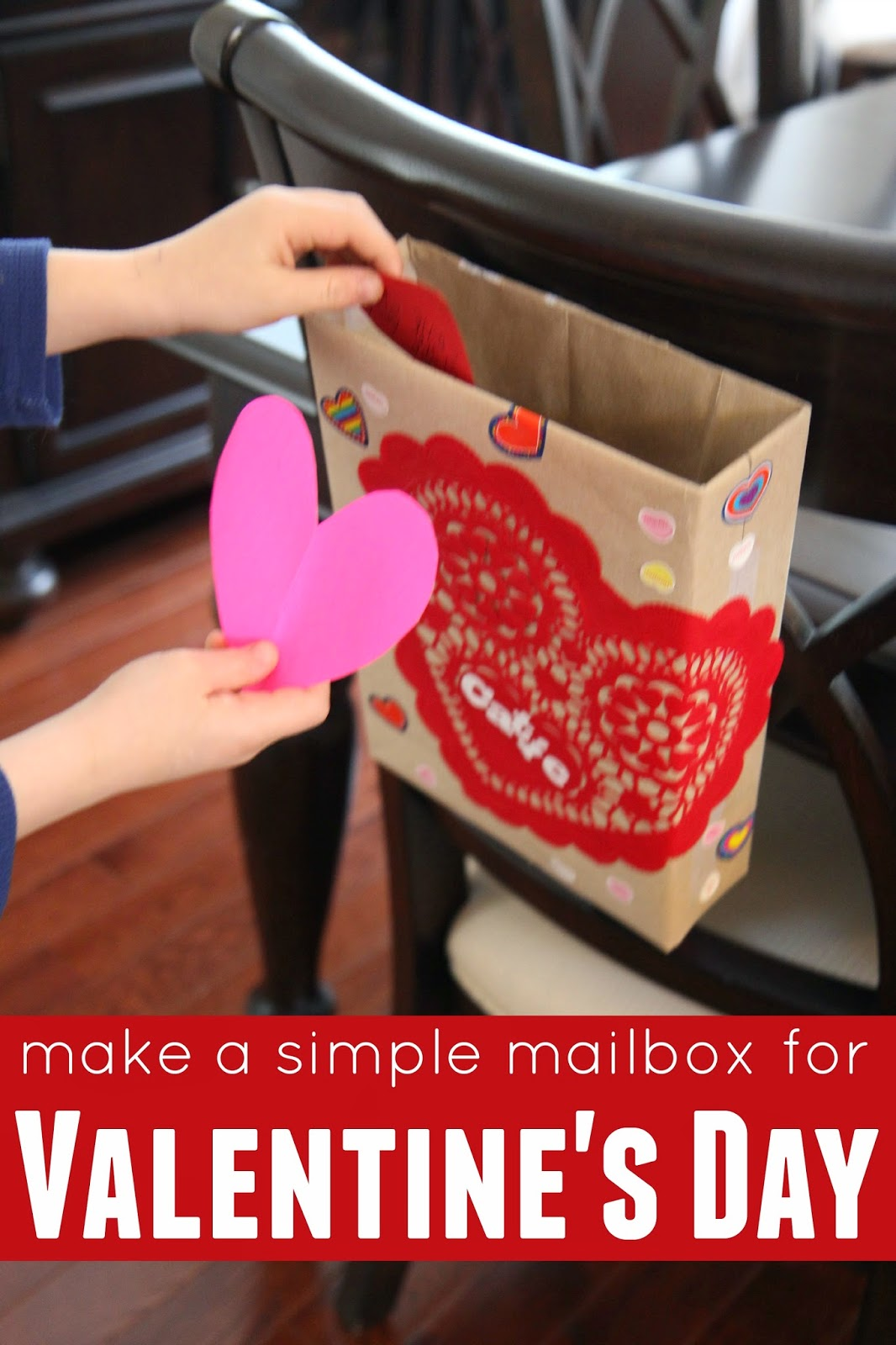 Cereal Box Mailboxes for Valentines Day Red Ted Arts Blog – Cereal Box Valentine Card Holder