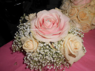 bridesmaids flowers/bouquets at monaleen church and adare manor