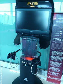 Charles de Gaulle Airport Terminal 1 PlayStation
