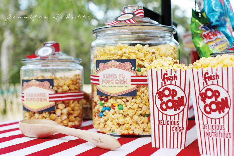 Party Ideas Night at the Movies Birthday Party  Karas Party Ideas