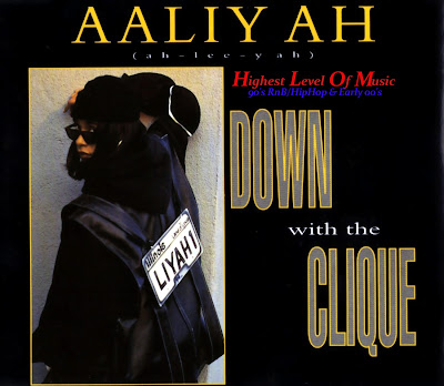 Aaliyah - Down With The Clique (Remix)-(UK_CDM)-1994