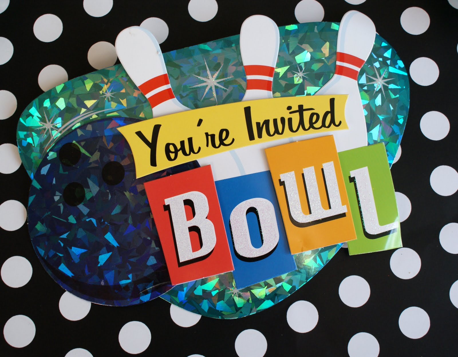 A Little Loveliness: Bowling Party Ideas
