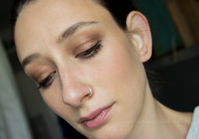 artdeco look Sommer bronze makeup summer glow full face