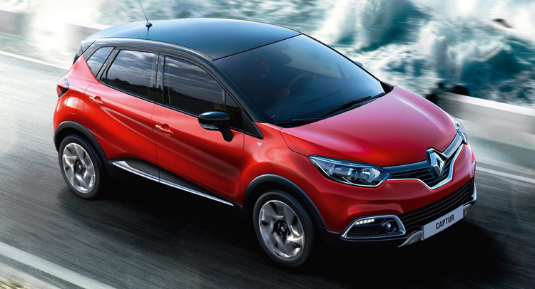 new signature model takes top spot in renault captur 39 s uk range. Black Bedroom Furniture Sets. Home Design Ideas