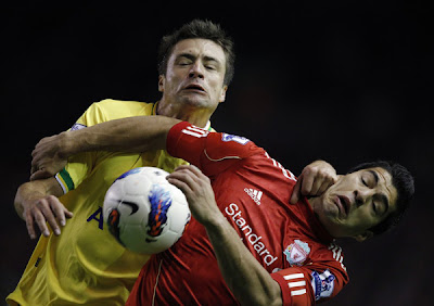 Liverpool 1 - 1 Norwich (1)