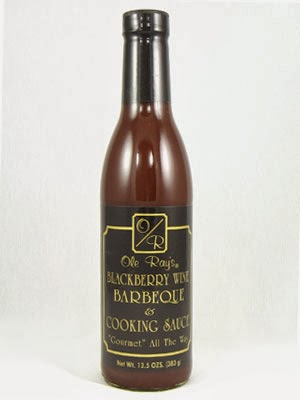 Ole Ray's Blackberry Wine Cooking Sauce