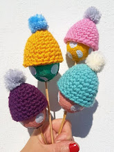 Gorros para huevos a crochet