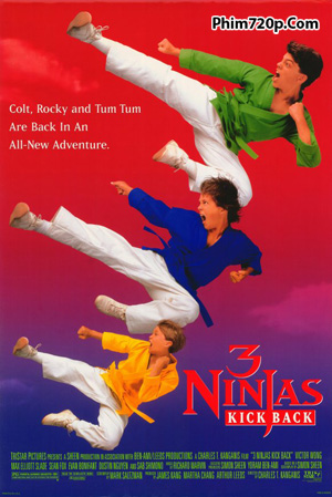 3 Ninjas Kick Back 1994 movie poster