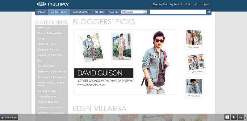 multiply bloggers picks david guison