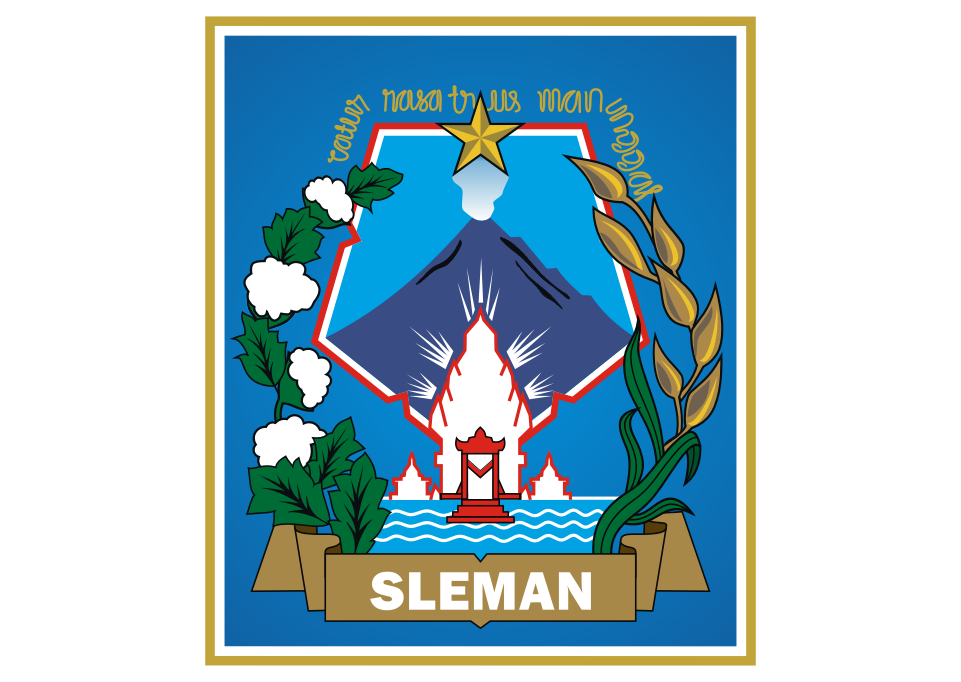 Kabupaten Sleman Logo Vector download free