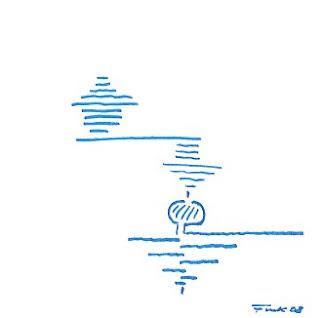 Zeichnung Bild / painting picture : Balance / balance