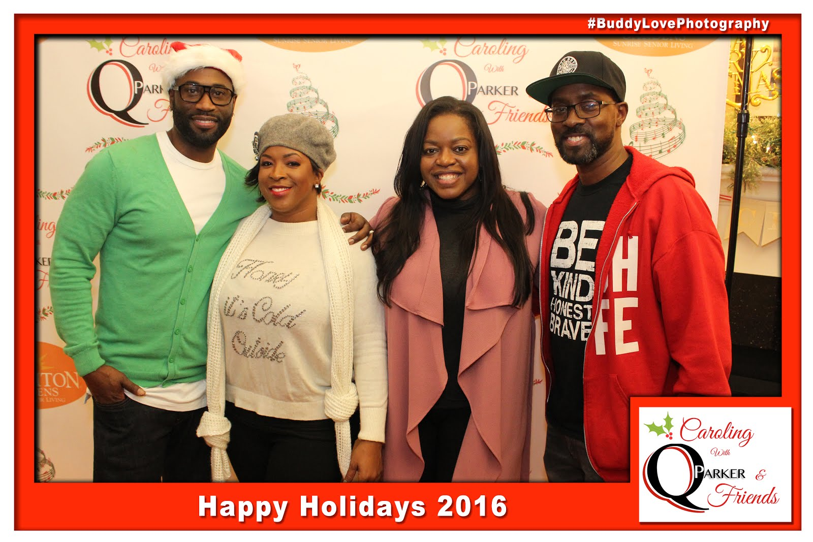 Q Parker Holiday Caroling Party