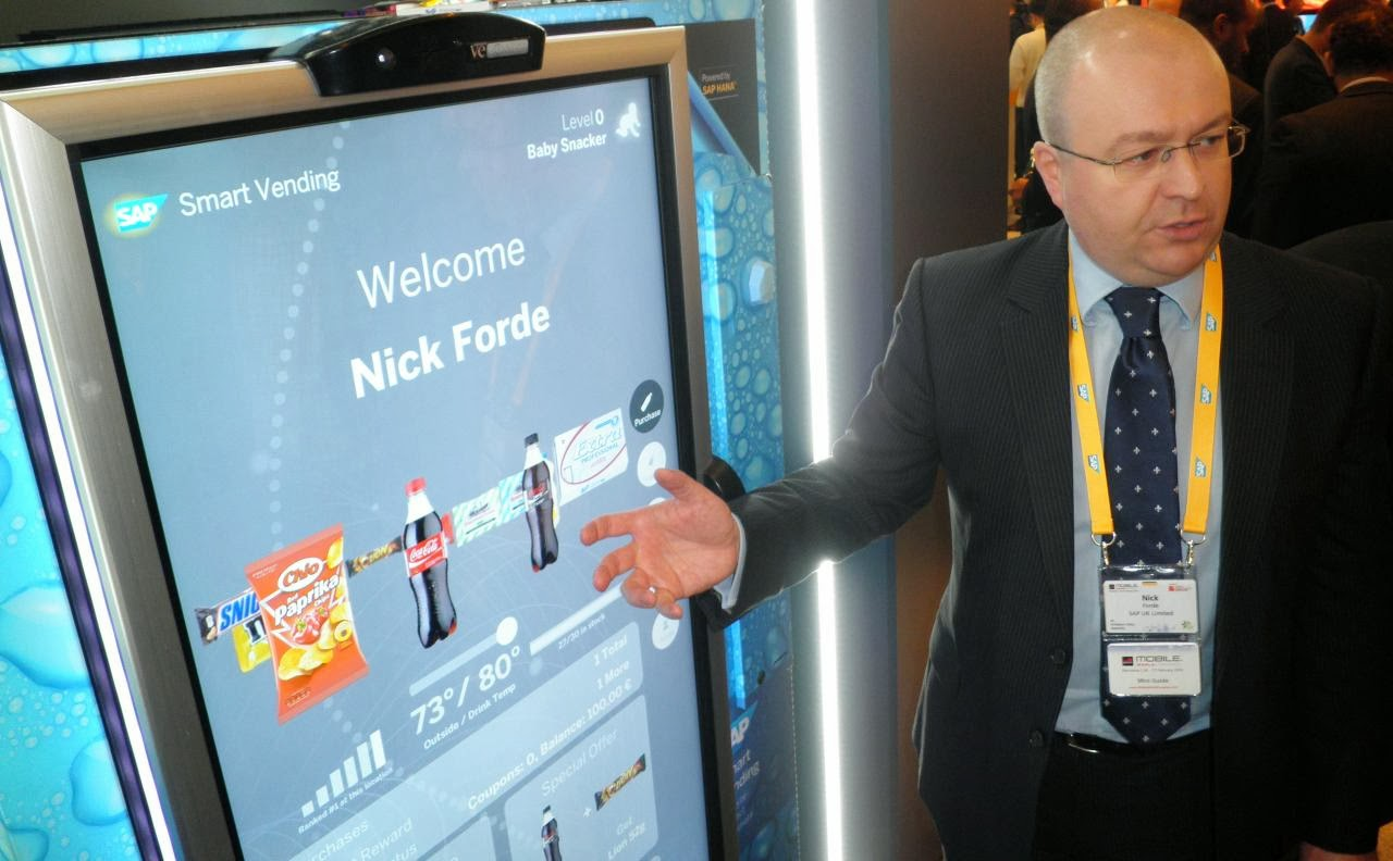 sap smart vending machine