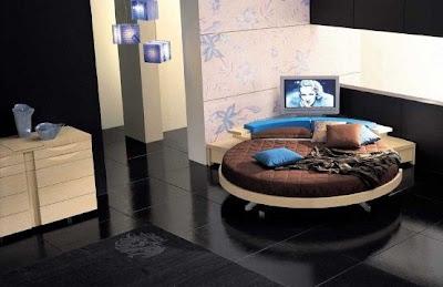 cama redonda decoración