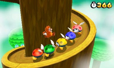 3DS Super Mario 3D Land Screenshot