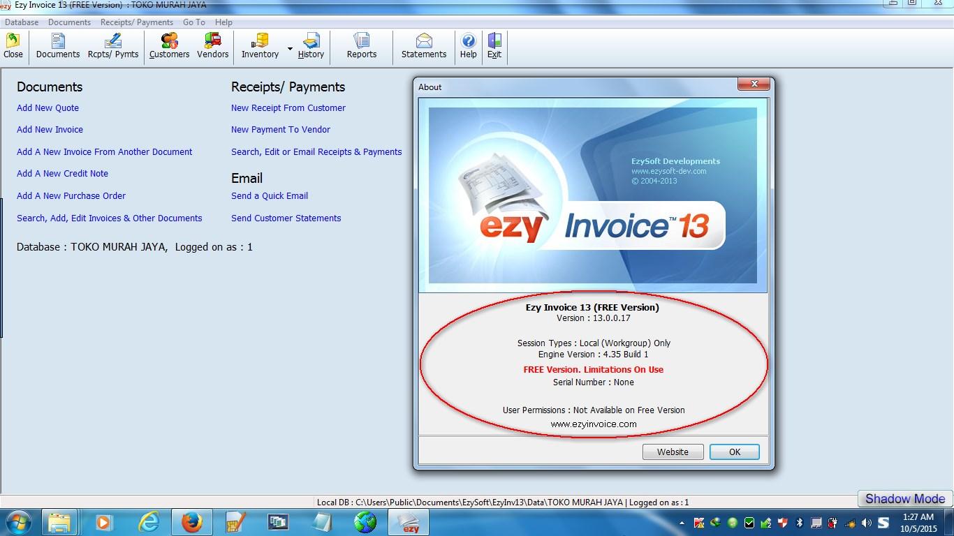 Ananthablogspotcom EZY INVOICE FULL VERSION - Key invoice software