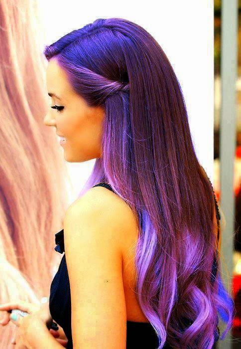 Tinte Color Violeta Fantasía