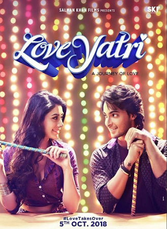 Poster Of Hindi Movie Loveyatri 2018 Full HD Movie Free Download 720P Watch Online