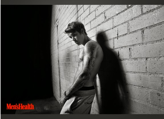 Justin Bieber - Men's Health Magazine April 2015