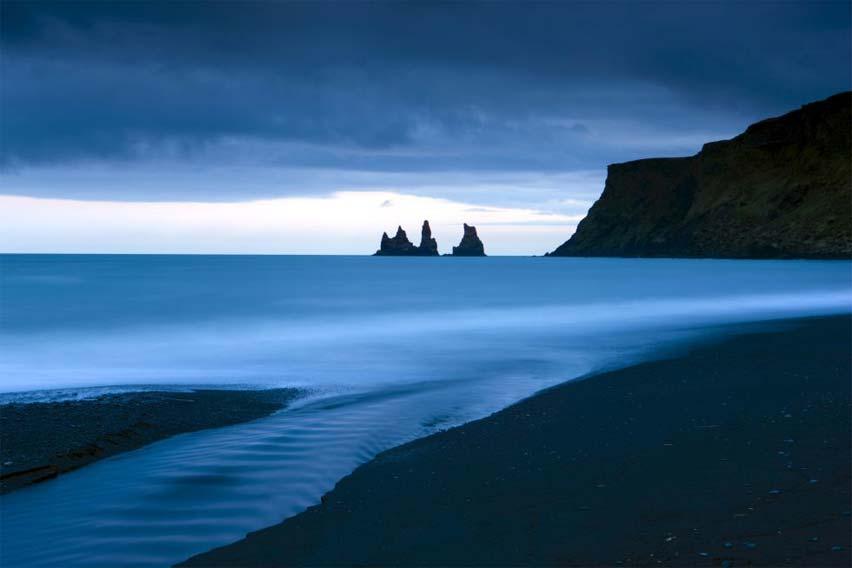 Playa de Vík, islandia