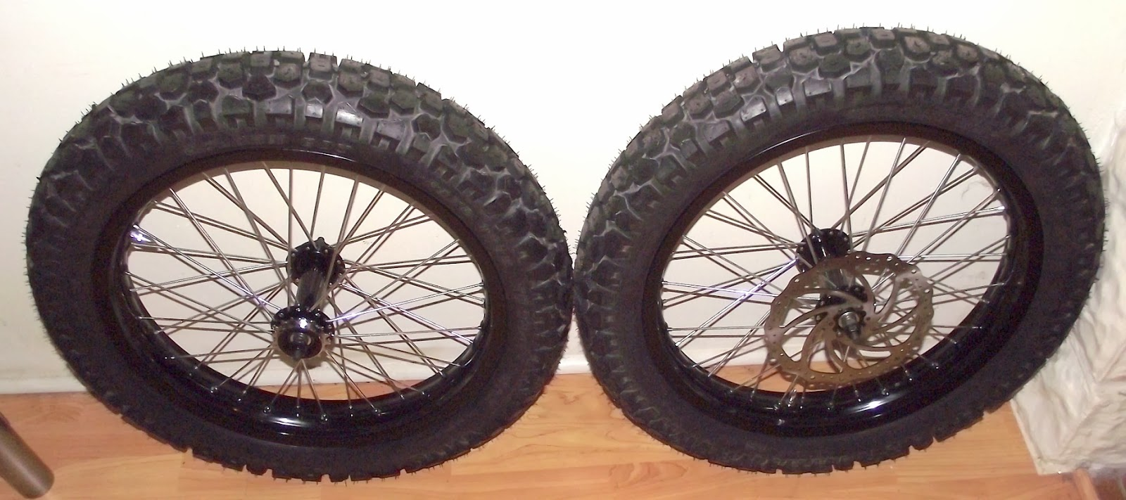Motorcycle Tire For Fat Rear Bicycle Wheels Page 2
