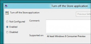 How to Disable Windows Store feature in Windows 8