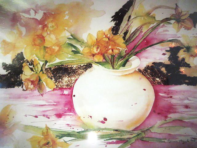 Favorito Angela Legrenzi. Acquerelli, pittura ad olio e porcellane  TH79