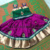 Bagalpuri Silk Kids Skirt